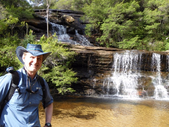 Australia Dan Friesen at Wentworth Falls