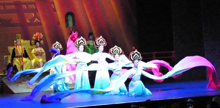 China Xi'an Tang Dynasty Music and Dance Show