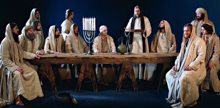 Germany Oberammergau Passion Play Last Supper